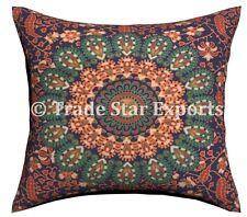 "Indian Mandala Tapestry Sofa Pillow Cases 18X18"" Boho Cushion Cover Throw Decor"