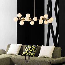 Large Chandelier Lighting Glass Pendant Light Kitchen Lamp Bar LED Ceiling Light