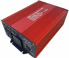 1000W (2000W peak)  pure sine wave power inverter 12v 1000 watt