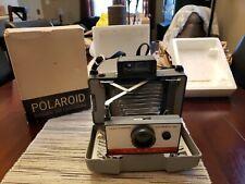 POLAROID Automatic 100 Land CAMERA + Manual CASE Flash W/ Box 👀📷👈👍☝️