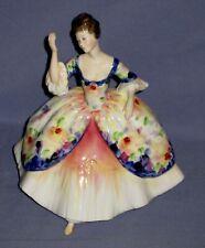 Vtg 1977 Royal Doulton Christine Hn 2792 Figurine Bone China Made in England!