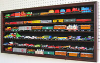 HO / RR Scale Model Train Hot wheels Display Case Cabinet Shadow Box- HW05-MAH
