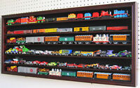 HO / RR Scale Model Train Hot wheel Display Case Cabinet Shadow Box- HW05-MAH