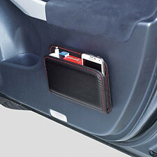 New Carbon Style Organizer Storage Pocket Mobile Phone Holder Car Accessories