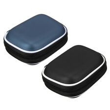 PU Hard Case Storage for Earbud In-Ear Earphone Headphone SD TF Card USB Drive