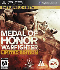Medal of Honor Warfighter *LIMITED EDITION* (PlayStation 3) NEW *bonus DLC* PS3