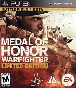 Medal of Honor Warfighter *LIMITED EDITION* (PS3) New