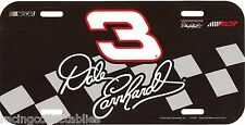 DALE EARNHARDT #3 LICENSE PLATE NEW BY WINCRAFT FREE SHIP