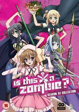 Is This A Zombie ? Complete Season 1 Collection DVD New & Sealed ANIME 2 MVM