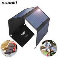 Suaoki 7W/14W/20W/25W/28W Solar Panel Portable Folding Waterproof Sun Energy