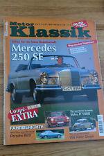 Motor Klassik 9/1997 Volvo P 1800,Porsche 928,Mercedes 250 CE Cabrio