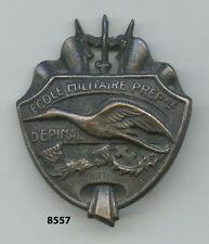 Insigne , École Militaire Préparatoire /  EPINAL  , ( argenté )