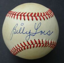 BILLY LOES  Signed Feeney Autographed  Baseball  COA