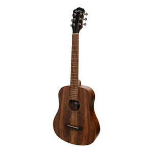 New Martinez Babe Traveller Mini Acoustic-Electric Left Handed Guitar (Rosewood)