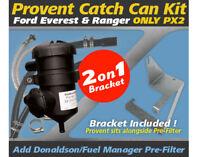 ProVent Oil Catch Can Bracket Kit for Ford Everest Ranger 2.2L 3.2L PX2 2015-18