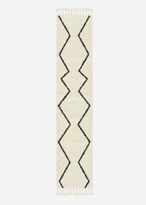 John Lewis & Partners SOUK Wool Graphite Runner Rug - 76cm x 213cm  *RRP £199*