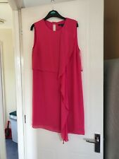 french connection dress 12 Hor Pink Shift Bnwt