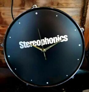 Stereophonics Upcycled drum clock