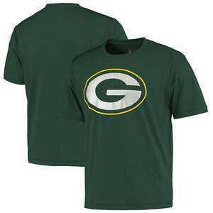 NFL T-Shirt Green Bay Packers Football Cool Base Logo Tech Synthetic