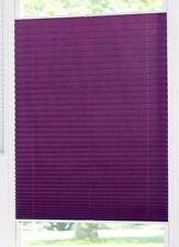 Klemmfix Plissee Klemmrollo Lila violett Dahra Lichtschutz Crush 40 - 120 cm