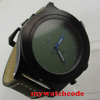 big sale 52mm parnis green dial big face PVD Full chronograph quartz mens watch