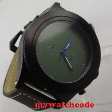 big sale 52mm parnis green dial big face PVD Full chronograph quartz mens watch