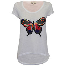 Polyester Butterfly Regular Size Tops & Blouses for Women