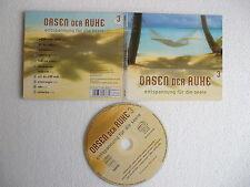 CD Oasen der Ruhe 3.Entspannung für die Seele.Wolfgang Zerbin Gerth 11 Tracks