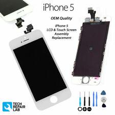Apple ORIGINALE per iPhone 5 Schermo LCD Retina Bianco Grado A