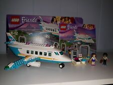 New ListingLego Friends Heartlake Private Jet 41100 Excellent Complete Set! Retired!