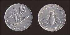 2 LIRA 1956 APE E OLIVO - ITALIA Q.FDC/aUNC QUASI FIOR DI CONIO
