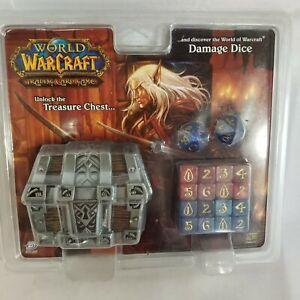 World of Warcraft TCG Damage Dice w/ Treasure Chest - Brand New