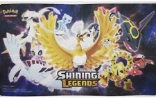 2 X PLAYMAT ONLY Shining Legends Super Premium Collection Box Pokemon PLAY MATS