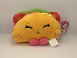Shopkins Collectibles 6 1/2 Inch Tall Plush Toy Taco Terri