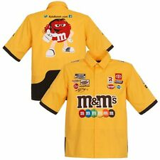 Kyle Busch JH Design M&Ms Official Pit Shirt - Yellow