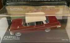 "DIE CAST "" OPEL KAPITAN P II 1959 - 1964 "" OPEL COLLECTION SCALA 1/43"