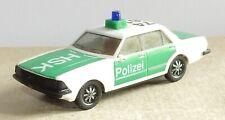 a MICRO HERPA HO 1/87 FORD GRANADA GHIA 2.8 I POLIZEI POLICE ALLEMANDE