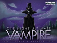 One Night Ultimate Vampire - Board Game - Brand New - Free Shipping!