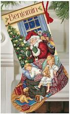 Counted Cross Stitch Kit SWEET DREAMS STOCKING Dimensions Gold Collection