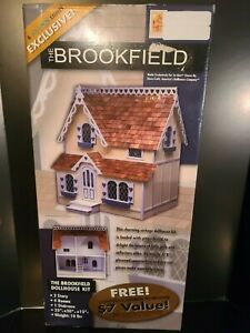 "NEW SEALED Dura-Craft Dollhouse ""The Brookfield"" Dollhouse Kit"