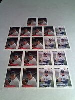 *****Bruce Chick*****  Lot of 20 cards.....2 DIFFERENT / Baseball