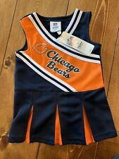 Chicago Bears Cheer Leader Outfit 2T Offical Licensed Apparel NWT