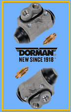 Set 2 Rear L & R Drum Brake Wheel Cylinders Replace Chrysler OEM# W610063 Pair