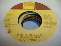 Soul 45 STEVIE WONDER Part Time Lover on Tamla