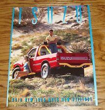 Original 1988 Isuzu Full Line Sales Brochure 88 Trooper II I-Mark Pickup Impulse