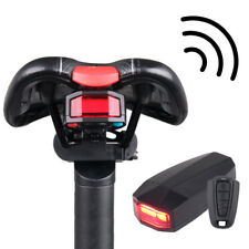 4 in 1 Bicycle Bike Rear Light Security Lock Alarm Anti-theft Remote Control Hot