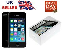 New iPhone 4s Black 32GB Apple Brand Unlocked Sim Free Smart Phone Sealed Boxed