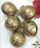 Wholesale 5PCS 27mm Excellent Chinese Tibet brass bell Feng shui