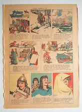 ★ Prinz Eisenherz Full Comic Sunday 20. Dez. 1953 Hal Foster °  Prince Valiant