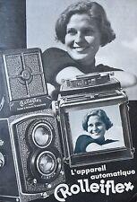 "Catalogue Photo "" Device Automatic Rolleiflex "" (Fr)"